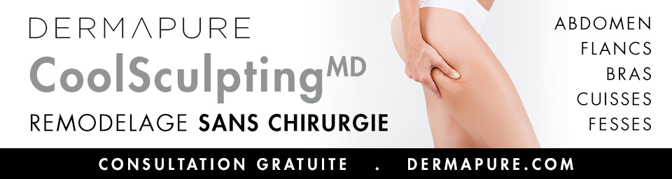 Dermapure - CoolSculpting - Résultats permanents